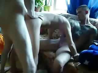 Homemade 3some (tonywall)