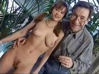 Cute Daddy Old and Young Pigtail Skinny Small Tits Teen