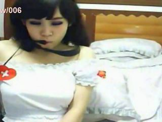 Asian Japanese Nurse Teen Uniform Webcam