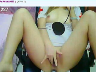 Asian Chinese Nurse Squirt Teen Uniform Webcam