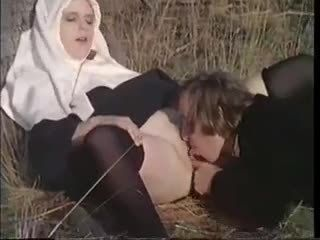 Licking Nun Outdoor Uniform Vintage