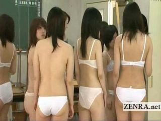 Asian Japanese Lingerie School Student