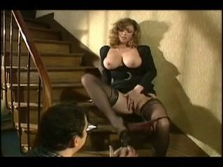Big Tits Masturbating  Stockings Vintage