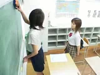 Asian Japanese Lesbian School Student Teen Uniform