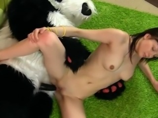 Hot female shaggs nearby funny Panda