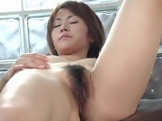 Pretty Jun Nada plays with herself