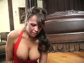 Bizarre mature dominatrix extremist cbt coupled with balls kicking fetish