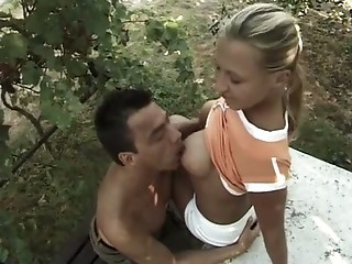 Nipples Outdoor Teen