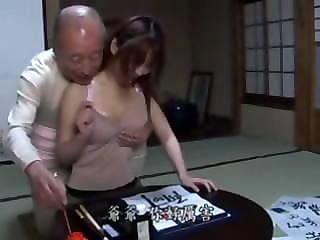 Asian Daddy Daughter Old and Young Teen