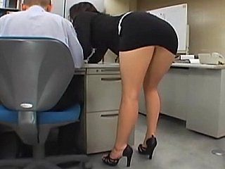 Amazing Asian Ass Japanese  Office Secretary