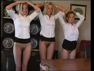 British Schoolgirls Punished