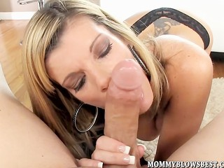 Porn star Kristal Summers drinks her oral creampie Sex Tubes