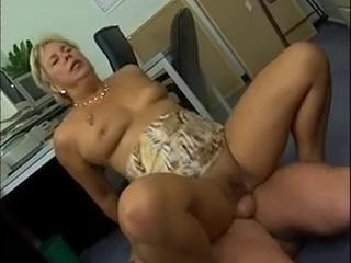 Anal European German Mature Riding