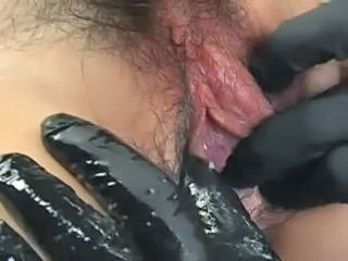 Asian Clit  Hairy Japanese Latex