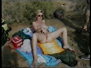Beach Masturbating Mature Vintage