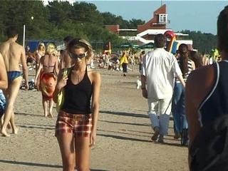 Vika Topless On Public Beach Sex Tubes