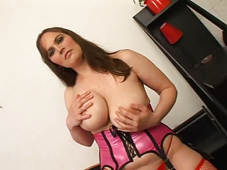 Big Tits Chubby Latex Mature Stockings