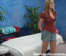 Shy teen fucked hard by her massage therapist while hidden camera catches it all