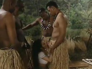 Blowjob Fantasy Gangbang Interracial Outdoor Vintage