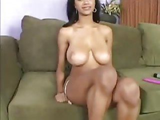 Babe Big Tits Ebony Natural Pornstar