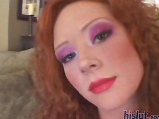 Audrey Hollander is the fiery redhead at the center of this dick storm