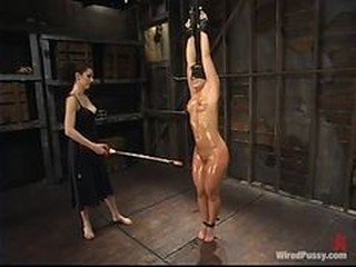 Katja Kassin Hung By Wrists And Shocked By Princess D...