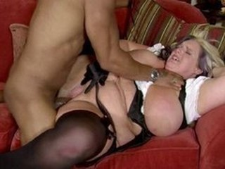 Big Tits Hardcore Interracial Maid   Stockings