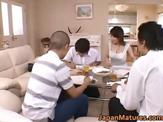 miki sato natural asian mother part1