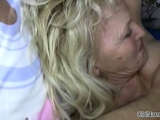 Nasty mature whore goes crazy sucking