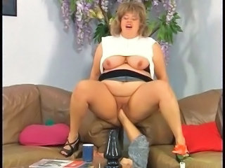 German beamy bbw fisted, toyed and fucked