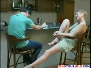 russian woman loves to swallow