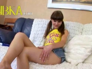 Amazing Cute Legs Pigtail Teen