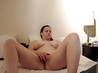 Chubby Masturbating   Solo Webcam