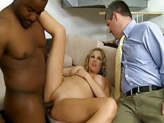 Big Tits Cuckold Interracial  Wife