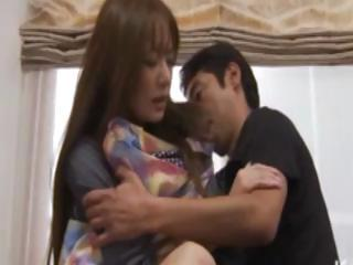 Asian milf undergoes unwanted oral sex