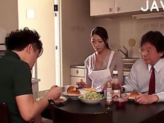 Asian Family Japanese Kitchen  Wife
