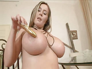 Amazing Big Tits Dildo  Pornstar Toy