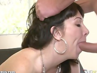 daughter catches mom getting ass pierced