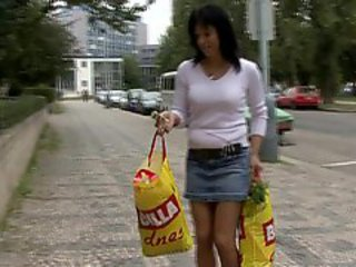 Amateur European Outdoor Public Teen