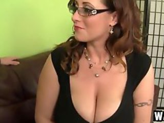 Big Tits Glasses  Natural