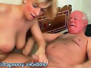 Daddy Daughter Old and Young Small cock
