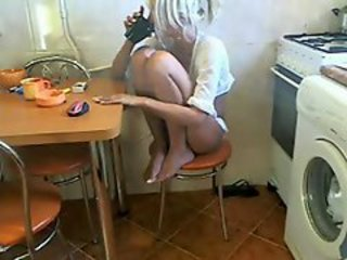 Amateur Homemade Kitchen Teen