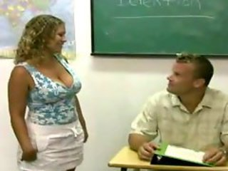 Big Tits  Natural School Teacher