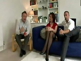 British European  Stockings Threesome