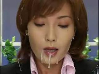 Asian Bukkake Cumshot Cute  Public Swallow