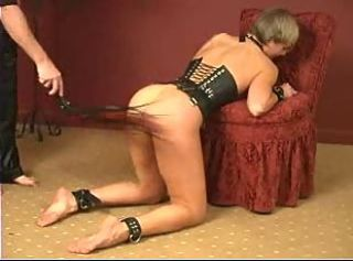 Spanked And Pinned