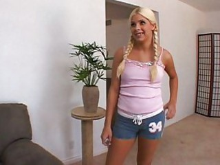 Blonde loves creampie shoots