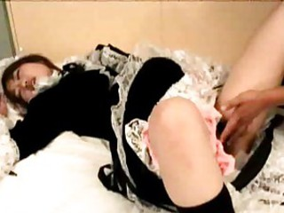 Asian Fisting Japanese Maid Orgasm Uniform