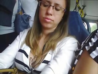 Bus Glasses Public Teen