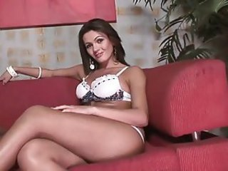 Hot tranny gets slay rub elbows with dick